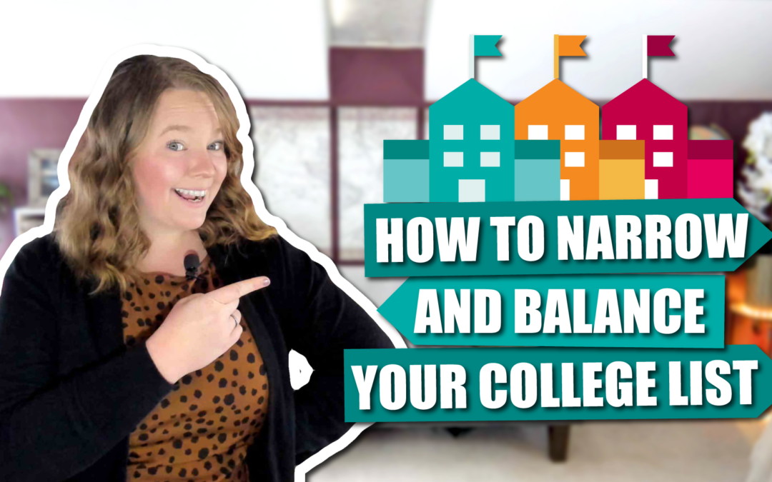 Narrow Down Your College List